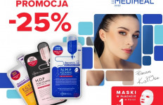 Maski Mediheal 25% taniej na DrogeriaEstrella.pl