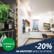 INDECO Trójmiasto -20% na wszystkie meble na wymiar