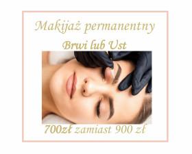 Makijaż permanentny brwi lub ust
