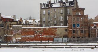 Mury iwieża zamku krzyżackiego