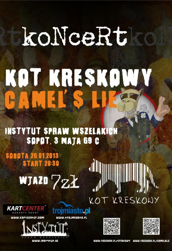 Camels Lie I Kot Kreskowy W Sopockich Kontenerach Instytut Spraw