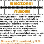 Wieczorki filmowe na Przylesiu