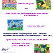 W barwnym świecie wierszy Juliana Tuwima - wystawa prac dzieci