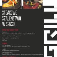 Steakowe Szaleństwo w Restauracj Senso!