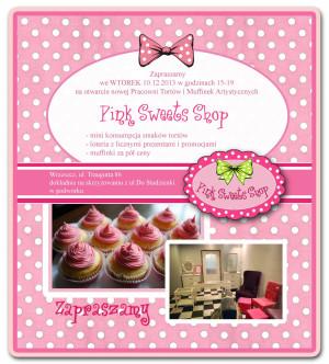 Pink Sweets Shop - Otwarcie!