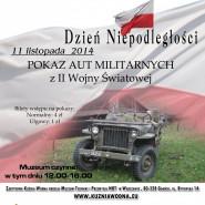 Pokaz pojazdów militarnych z II Wojny Światowej - Kuźnia Wodna
