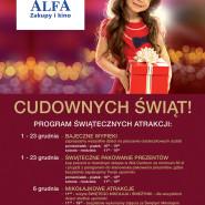 Mikołajkowe atrakcje w Alfa Centrum!