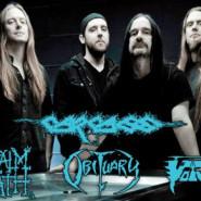 Carcass, Napalm Death, Obituary i Voivod
