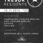 Playground pres. Tresor. Berlin Residents