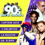90s Live in concert - 2 Unlimited, Dr. Alban, Captain Jack, La Bouche