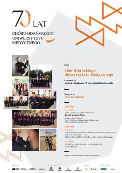 70 lat Chóru Gdańskiego Uniwersytetu Medycznego