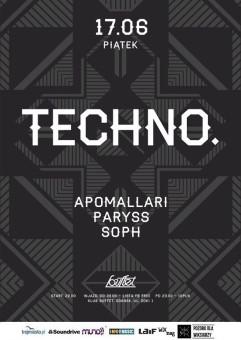 Techno. Paryss I Soph I Apomallari