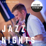 Jazz night przy dźwiękach saksofonu