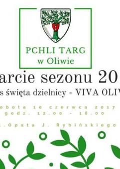 Pchli Targ w Oliwie - Otwarcie sezonu 2017