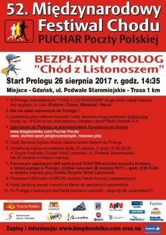 Prolog Charytatywny - Chód z Listonoszem