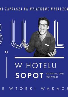 Cybulski w Hotelu Sopot: Spotkanie z Małgorzatą Potocką