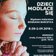 Dzieci modlące się - malarstwo Bogdana Barczyka