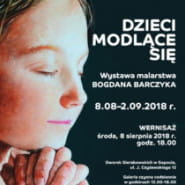 Dzieci modlące się - wystawa