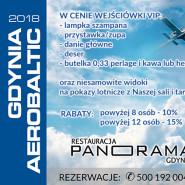 Panorama widokiem na Aerobaltic