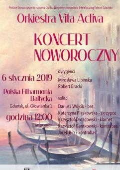 Koncert Noworoczny Orkiestry Vita Activa