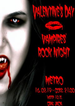 Valentine's Day - Vampires' Rock Night