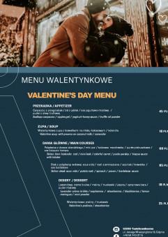 Walentynkowa kolacja w skandynawskim stylu