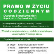 Testamenty, rejestr testamentów - spotkanie z notariuszem
