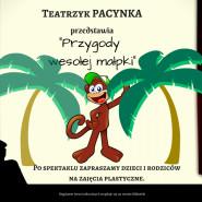 Teatrzyk Pacynka - Przygody wesołej małpki