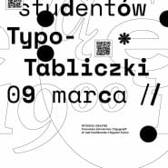 Wernisaż: Typo-tabliczki studentów ASP
