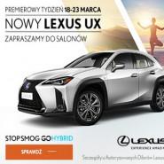 Premierowy tydzień z nowym Lexusem UX