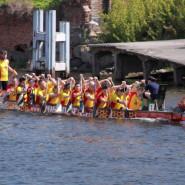 Europejski Dzień Morza: Wyścig smoczych łodzi gdańskich uczelni