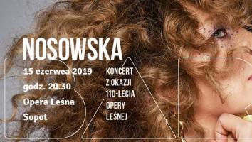 Zaproszenia na koncert Nosowskiej