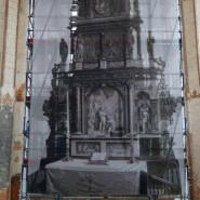 Odsłonięcie ołtarza w Centrum św. Jana