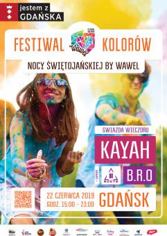 Festiwal Kolorów Nocy Świętojańskiej by Wawel