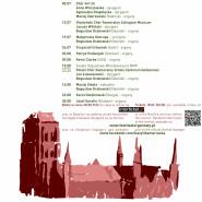 42. Międzynarodowy Festiwal Muzyki Organowej, Chóralnej i Kameralnej Gdańsk 2019