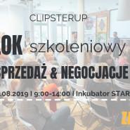 ClipsterUP warsztaty - Sprzedaż & Negocjacje