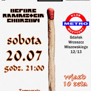 Mein Teil Party - before Rammstein Chorzów