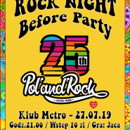 Rock Night: 25. Pol'and'Rock - Before Party