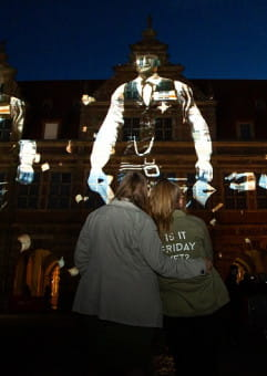 Gdańsk miastem wolności i solidarności - pokaz multimedialny