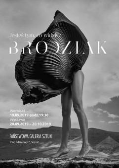 Jesteś tym, co widzisz - wystawa Szymona Brodziaka