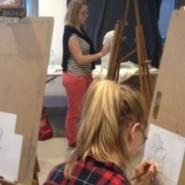 Studium postaci - kurs malarstwa i rysunku