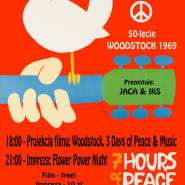 Flower Power Night: 50-lecie Festiwalu Woodstock 1969.