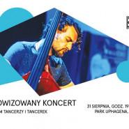 Improwizowany koncert z udziałem tancerzy i tancerek