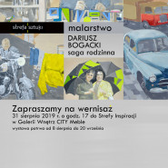 Wernisaż Darka Bogackiego - Saga rodzinna