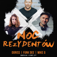 Noc Rezydentów  Doriss & Funk Dee & Mike G - Happy Birthday