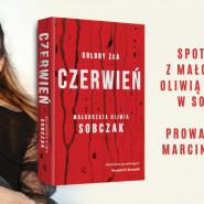Małgorzata Oliwia Sobczak - premiera książki Czerwień