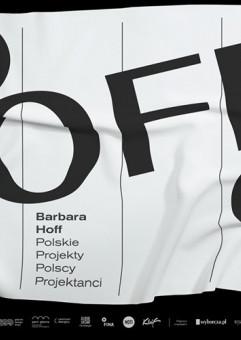 Barbara Hoff - oprowadzanie po wystawie
