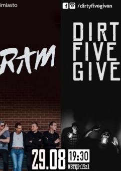 Dirty Five Given x FRAM x Kruki x Rosochate