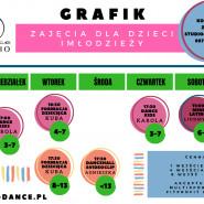 Zajęcia dla Dzieci i Młodzieży Z-Dance Studio - Zapisy