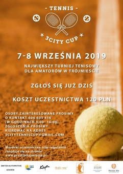 3City Tennis Cup- turniej tenisowy dla amatorów w Trójmieście